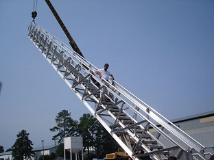Telescopic Marine Accommodation Ladder